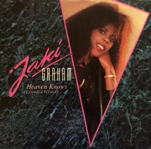 "Jaki Graham - Heaven Knows (12"") (EX/EX+)"